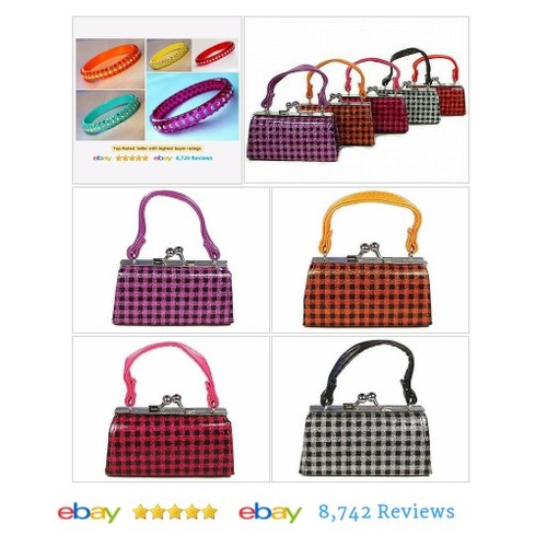 Mini Purse Lipstick Cases Wholesale Lot of 6 Checkerboard Pattern #etsy #PromoteEbay #PictureVideo @SharePicVideo