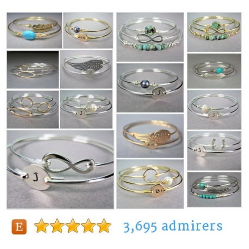 Bangle Bracelet Sets #etsy shop #banglebraceletset @baublevine  #etsy #PromoteEtsy #PictureVideo @SharePicVideo