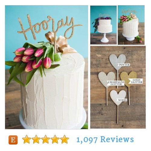 #decoration #caketopper @emilysteffen  #etsy #PromoteEtsy #PictureVideo @SharePicVideo