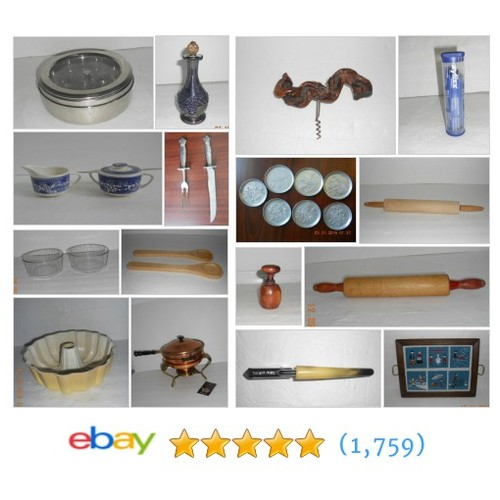 Vintage Kitchen & More Great deals from Trader Frank 2 General Store #ebay @traderfrank2  #ebay #PromoteEbay #PictureVideo @SharePicVideo