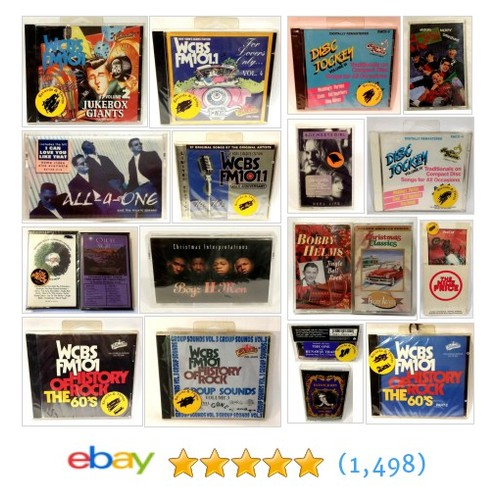Music(Tapes, LPs,CDs, etc...) Great deals from LucyMor's Discount Shoppe #ebay @lucy_mors  #ebay #PromoteEbay #PictureVideo @SharePicVideo