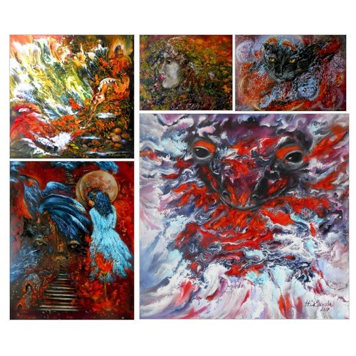 Exclusive Surreal oil Paintings by Etsy shop: https://www.etsy.com/shop/ArtBuyOnline #etsy #PromoteEtsy #PictureVideo @SharePicVideo