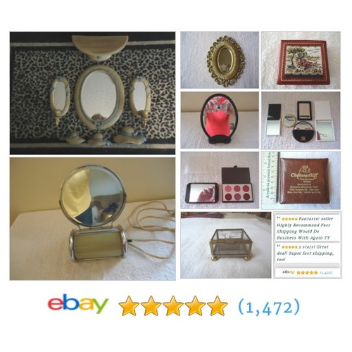 Mirrors in Foster Web Store ! #Mirrors #Collectables#CompactMirrors #ebay #PromoteEbay #PictureVideo @SharePicVideo