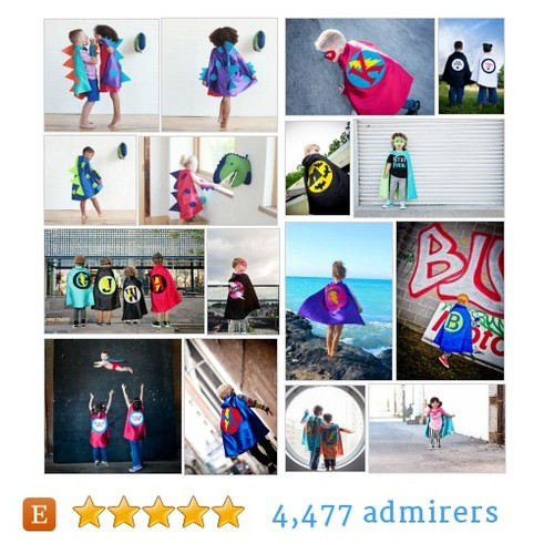 Superhero Capes for Boys, Girls, Adults - Custom Made by pipandbean Etsy shop #etsy #PromoteEtsy #PictureVideo @SharePicVideo