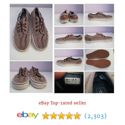 VTG Mens VANS Beige Canvas Lo Trainer/Shoe Size 8 #ebay @funky_carrot https://www.SharePicVideo.com/?ref=PostPicVideoToTwitter-funky_carrot #etsy #PromoteEbay #PictureVideo @SharePicVideo