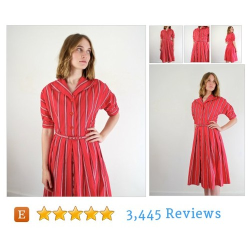 Vintage 1940s Dress • 40s Dress • 1940s Day #etsy @jessjamesjake  #etsy #PromoteEtsy #PictureVideo @SharePicVideo