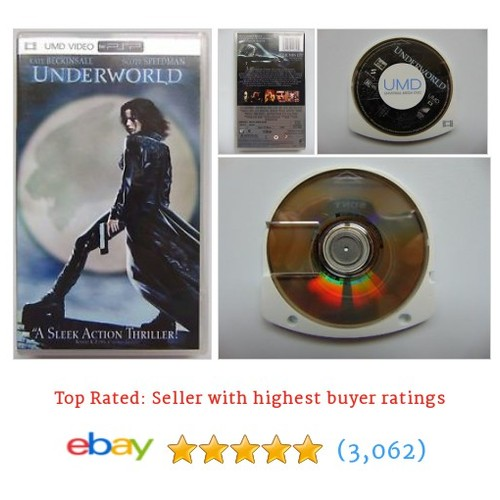 Underworld (UMD-Movie, 2006) USED PSP VIDEO Playstation Movie #ebay @morgantrader  #etsy #PromoteEbay #PictureVideo @SharePicVideo