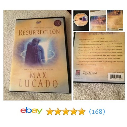 Resurrection DVD: Max Lucado #ebay @boxingbrain  #etsy #PromoteEbay #PictureVideo @SharePicVideo