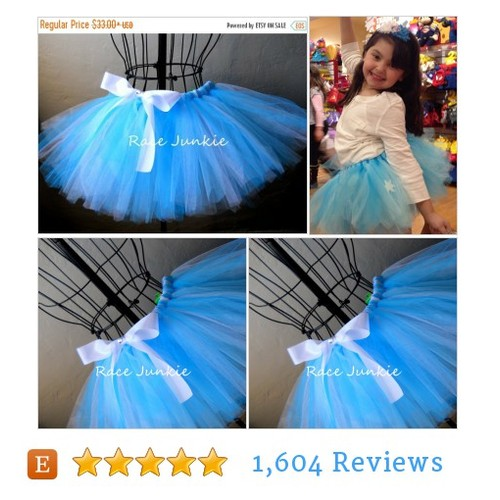 On Sale Two toned Blue tutu. Princess Tutu. #etsy @race_junkie007  #etsy #PromoteEtsy #PictureVideo @SharePicVideo