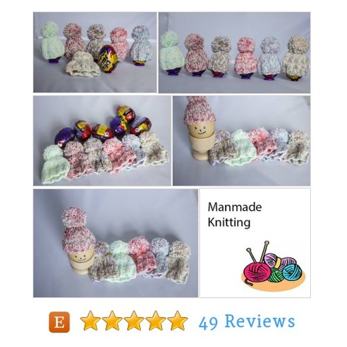 Easter Egg Cosies in Multi colours, Egg #etsy @kevin1877uk  #etsy #PromoteEtsy #PictureVideo @SharePicVideo