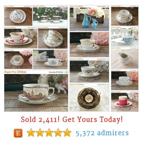 Tea Cups, Pots & Serving Etsy shop #pot #teacup #serving #etsy @rosebud23834  #etsy #PromoteEtsy #PictureVideo @SharePicVideo