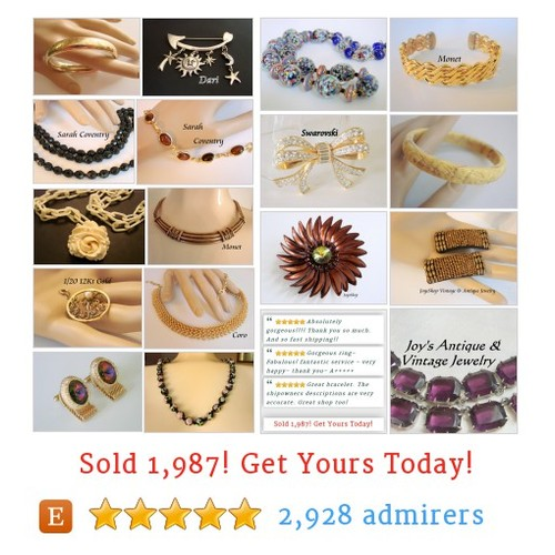 Specializing in Quality Vintage & Antique Jewelry by JoysShop #etsy shop @gemsbyjoy https://SharePicVideo.com?ref=PostVideoToTwitter-gemsbyjoy #etsy #PromoteEtsy #PictureVideo @SharePicVideo