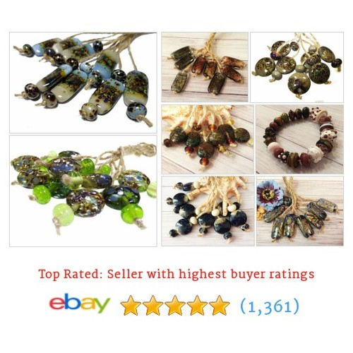Lampwork Glass Beads Items in Slavic Sun store #ebay @slavicsun  #ebay #PromoteEbay #PictureVideo @SharePicVideo