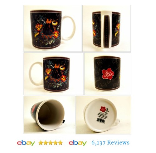 Hilo Hattie #Mug LEI FLOWERS 2002 Coffee Cup Hawaiian #Modern #IslandHeritage #etsy #PromoteEbay #PictureVideo @SharePicVideo