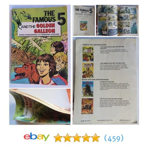 ENID BLYTON The famous 5 and the golden galleon English London OLD #ebay @goyal_mgoyal https://www.SharePicVideo.com/?ref=PostPicVideoToTwitter-goyal_mgoyal #etsy #PromoteEbay #PictureVideo @SharePicVideo
