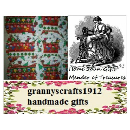 grannyscrafts1912.ecrater.com handmade gifts quilts clothing @homespunitems #socialselling #PromoteStore #PictureVideo @SharePicVideo