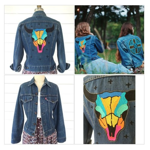 The Rainbow Skull Jacket #socialselling #PromoteStore #PictureVideo @SharePicVideo
