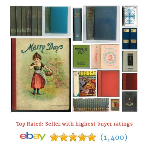 Literature Great deals from Rare and Antiquarian Bookfinders #ebay @rabookfinders  #ebay #PromoteEbay #PictureVideo @SharePicVideo