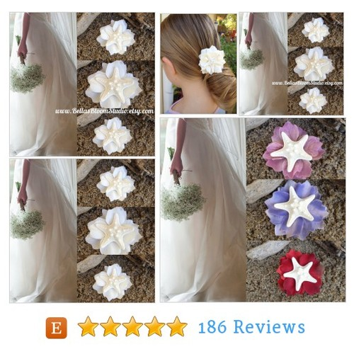 Starfish Hair Clip Starfish Hair #etsy @bellasbloom  #etsy #PromoteEtsy #PictureVideo @SharePicVideo