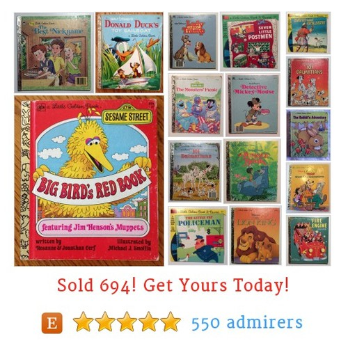 Little golden books Etsy shop #etsy @youth_reclaim https://www.SharePicVideo.com/?ref=PostPicVideoToTwitter-youth_reclaim #etsy #PromoteEtsy #PictureVideo @SharePicVideo