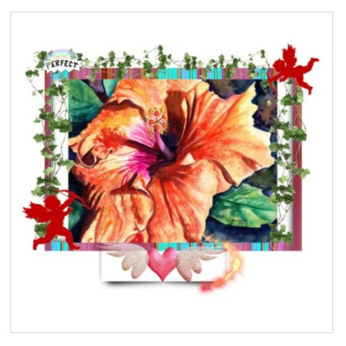 Perfect Hibiscus #artexpression #integritytt #etsyspeciat #polyvore  www.etsy.com/shop/kauaiartist Marionette Taboniar #socialselling #PromoteStore #PictureVideo @SharePicVideo
