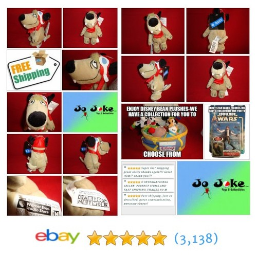 WARNER BROS STUDIO STORES-MUTLEY BEAN PLUSH-8 IN-RACING GEAR-WACKY RACES-NEW/TAG | eBay #WARNERBROSSTUDIOSTORE #etsy #PromoteEbay #PictureVideo @SharePicVideo