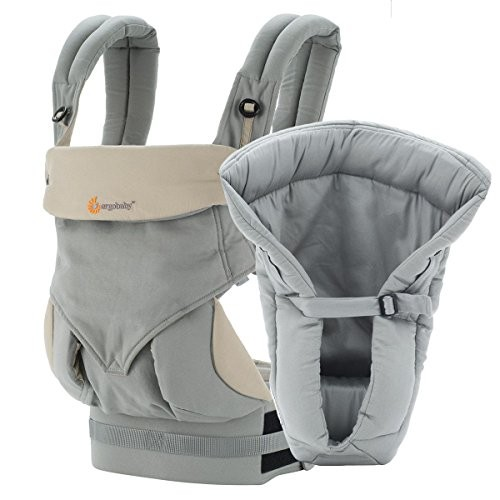 #Ergobaby Bundle -# 2# Items:# Grey# 4 #Position #360 #Carrier and #Grey# Infant# Insert #socialselling #PromoteStore #PictureVideo @SharePicVideo