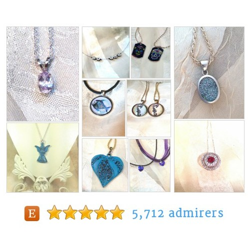 Necklaces and Pendants by NorthCoastCottage Etsy shop #etsy #PromoteEtsy #PictureVideo @SharePicVideo