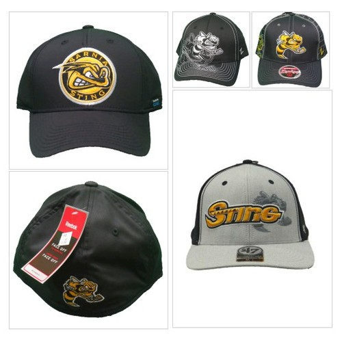 Sarnia Sting Black Logo Cap by Reebok @stinghockey  #shopify #PromoteStore #PictureVideo @SharePicVideo