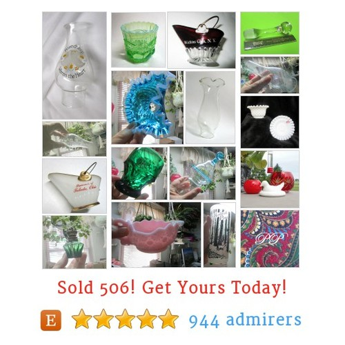 vintage glass Etsy shop #etsy @joycestrohl  #etsy #PromoteEtsy #PictureVideo @SharePicVideo