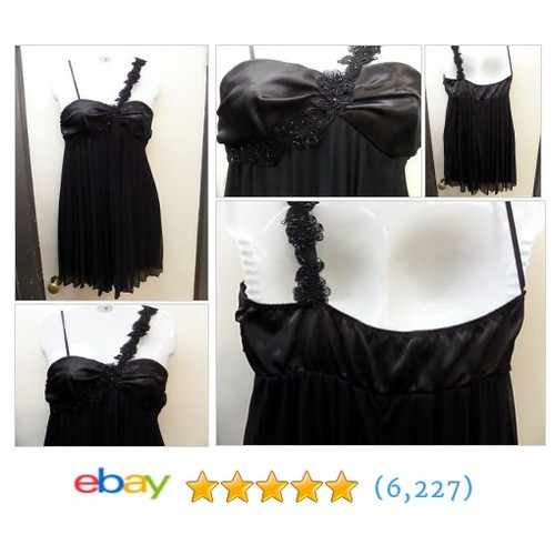 WOMENS juniors SMALL ROBERTA DRESS evening wear BLACK GORGEOUS! 1 #ebay @5candycanes  #etsy #PromoteEbay #PictureVideo @SharePicVideo