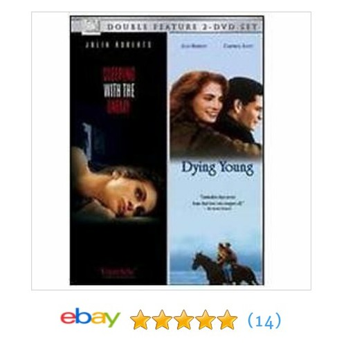 Sleeping with the Enemy/Dying Young 2-Pack (DVD, 2006, 2-Disc Set) NEW! 24543410768 | eBay #DVD #Movie #BlurayDisc #etsy #PromoteEbay #PictureVideo @SharePicVideo