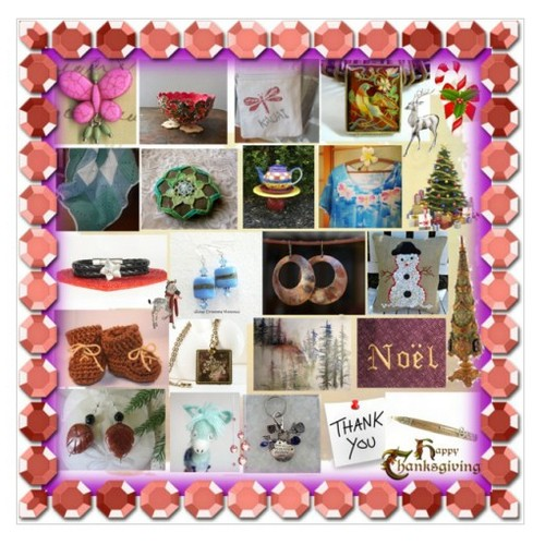 Thank You & Happy Thanksgiving #IntegrityTT #TIntegrityT #handmade #giftideas #etsyshops #Polyvore #etsyspeciat #socialselling #PromoteStore #PictureVideo @SharePicVideo
