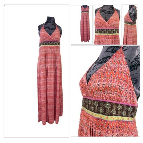 Women's Halter Maxi Sundress #socialselling #PromoteStore #PictureVideo @SharePicVideo