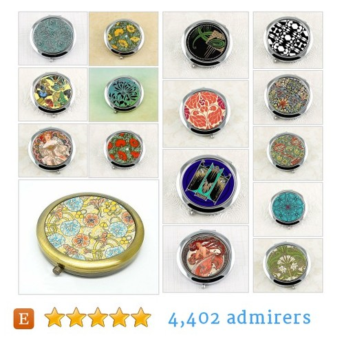 Luxury Compact Mirrors #etsy shop #luxurycompactmirror @decdesignworks  #etsy #PromoteEtsy #PictureVideo @SharePicVideo