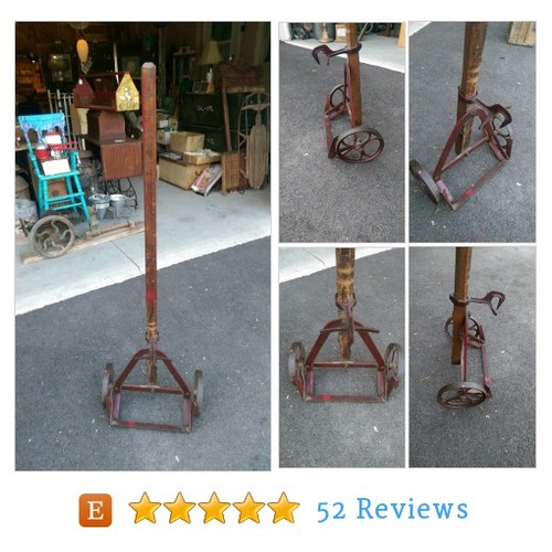 Antique Vintage Hand truck - Single Handled #etsy @vermont_picker  #etsy #PromoteEtsy #PictureVideo @SharePicVideo