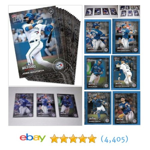 2016 Topp Now AL WC Post Season Blue Jays Team Set Break ONLY 145 #ebay @espyonage11 https://www.SharePicVideo.com/?ref=PostPicVideoToTwitter-espyonage11 #etsy #PromoteEbay #PictureVideo @SharePicVideo