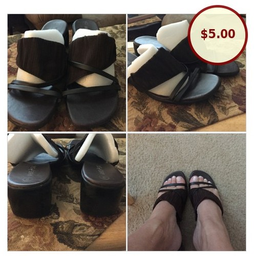 White stag slip on sandals. Very stylish @lauracasey32 https://www.SharePicVideo.com/?ref=PostPicVideoToTwitter-lauracasey32 #socialselling #PromoteStore #PictureVideo @SharePicVideo