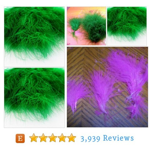 Green Marabou Feathers MRD-01 boutonnieres #etsy @mountainfeathe1  #etsy #PromoteEtsy #PictureVideo @SharePicVideo
