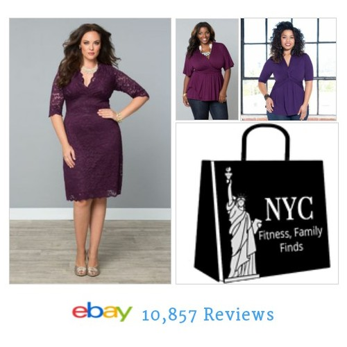 #purple #Plus Size ladies here is your eye candy! We ship from our NYC boutiques as fast as you click! #ebay #PromoteEbay #PictureVideo @SharePicVideo