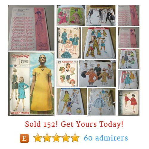 sewing patterns Etsy shop #sewingpattern #etsy @gwensrealm  #etsy #PromoteEtsy #PictureVideo @SharePicVideo