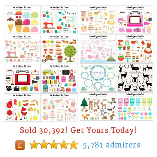 Clipart Etsy shop #clipart #etsy @boutique_colori  #etsy #PromoteEtsy #PictureVideo @SharePicVideo