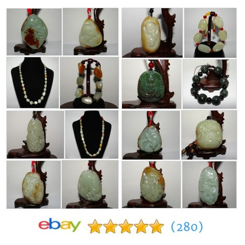 Certificated Nephrite Jade Great deals from Jenny's Jade Store #ebay @jade2058liu  #ebay #PromoteEbay #PictureVideo @SharePicVideo