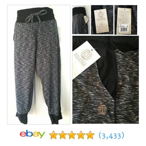 New Balance Gray Yoga Exercise Fitness Stretch Pants Pockets Sz XL #ebay @hawaiipicks05  #etsy #PromoteEbay #PictureVideo @SharePicVideo