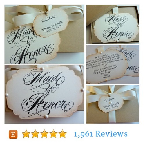 Will you be my maid of honor invitation, #etsy @ifiwerecards  #etsy #PromoteEtsy #PictureVideo @SharePicVideo