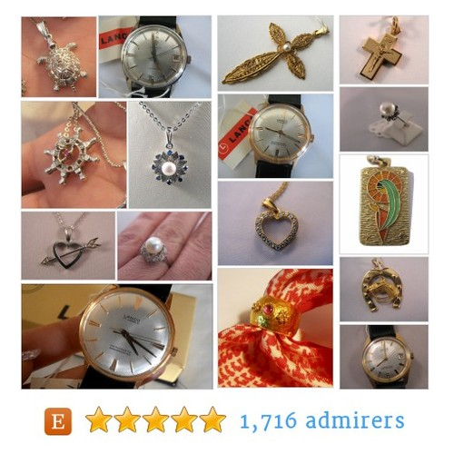 Vintage jewelries, watches and silverware by VintageJewelries #etsy shop @riagronEtsy https://SharePicVideo.com?ref=PostVideoToTwitter-riagronEtsy #etsy #PromoteEtsy #PictureVideo @SharePicVideo