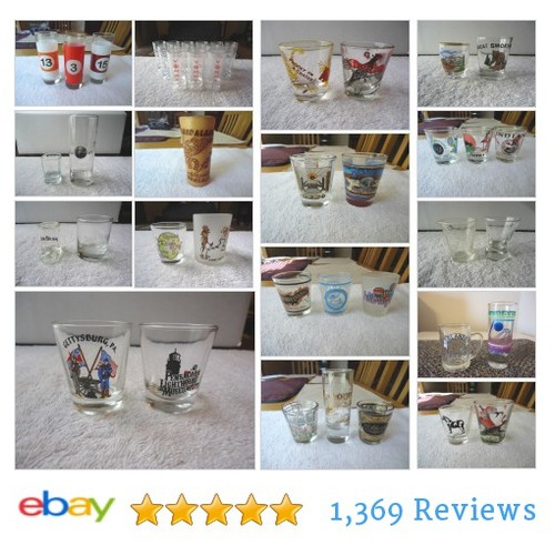 Always Free Shipping At Foster Web Store ! #ShotGlasses #Bar #Collectibles #ebay #PromoteEbay #PictureVideo @SharePicVideo