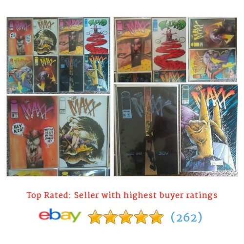The Maxx Image comic book lot of 8 #ebay @thelaunchpad1  #etsy #PromoteEbay #PictureVideo @SharePicVideo