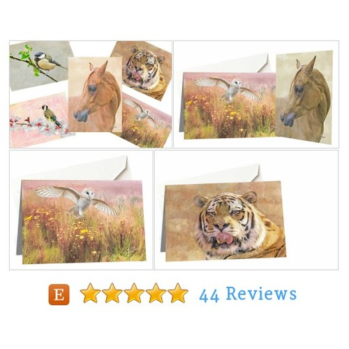 wildlife card set, custom card set, blank #etsy @iainbyrne  #etsy #PromoteEtsy #PictureVideo @SharePicVideo