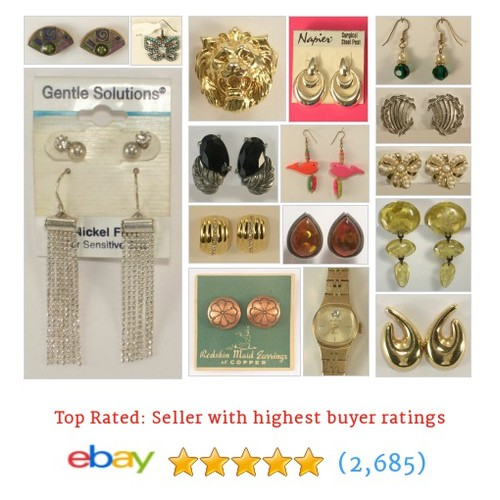 Jewelry - Earrings Items in G's New & Used store  #jewelryearring  @johngermaine  #ebay  #ebay #PromoteEbay #PictureVideo @SharePicVideo